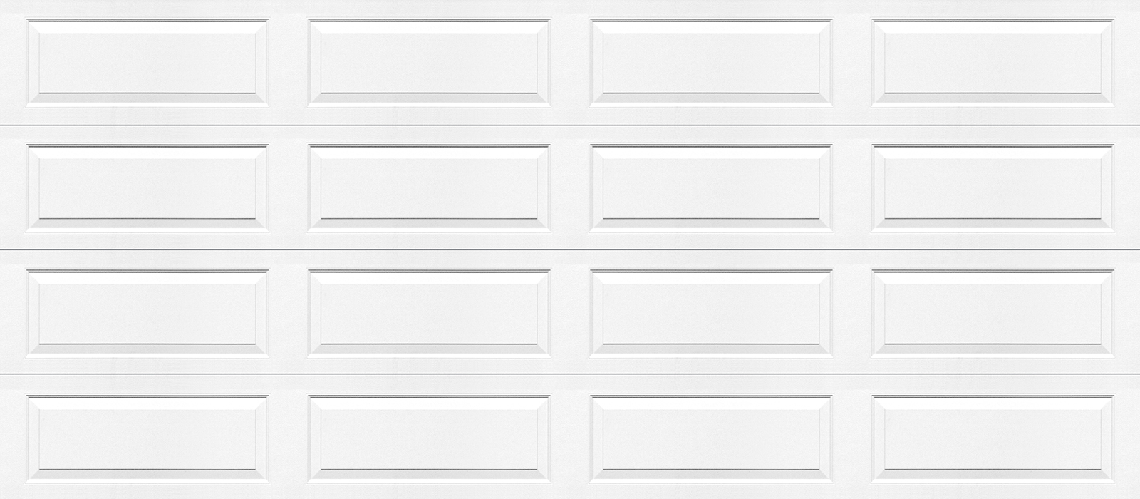 16x7 Ranch Panel White