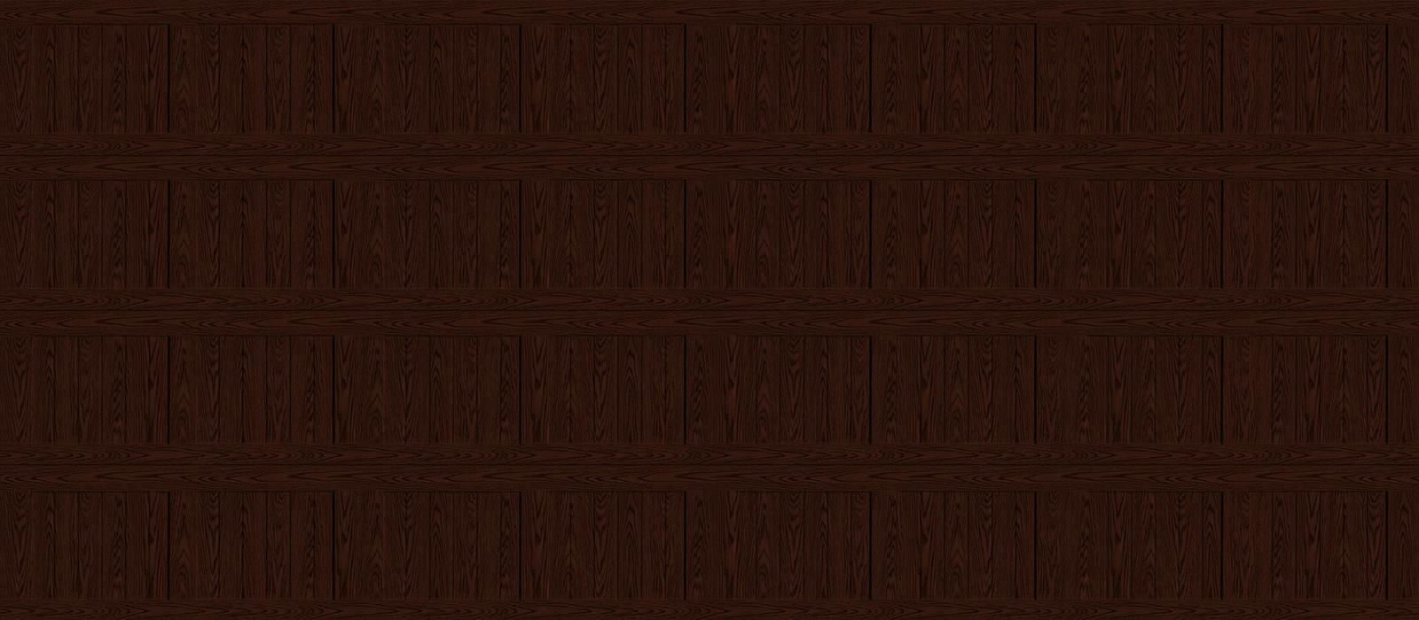 16x7 Short Panel Carriage Dark Oak