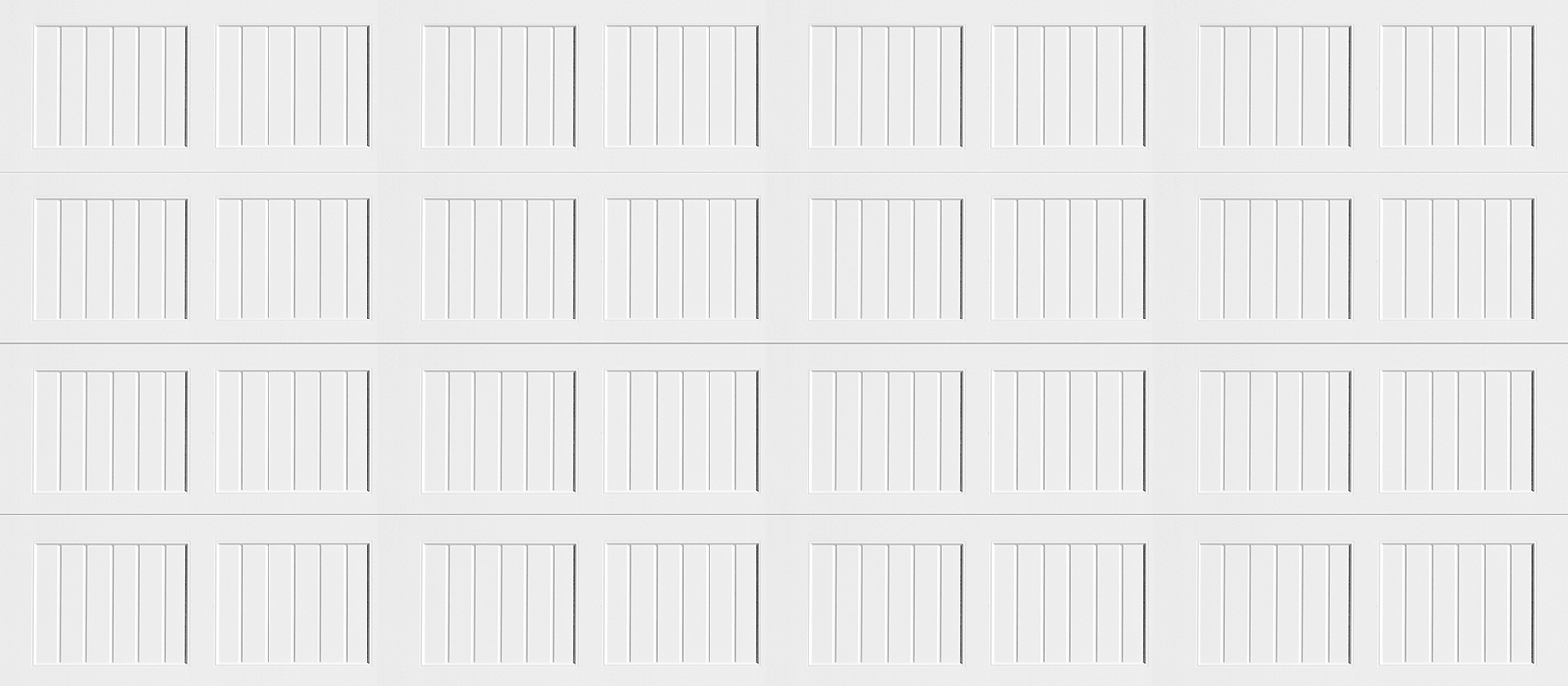 16x7 Short Panel Carriage White
